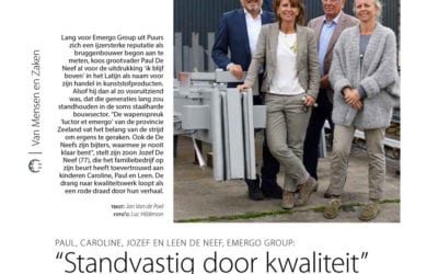 'Van Mensen en Zaken: Emergo-Group', Ondernemers VOKA, juin 2017 (NL)