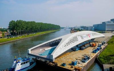 'De Parkbrug als nieuwe stadspoort van Antwerpen', Mettalerie, december 2016