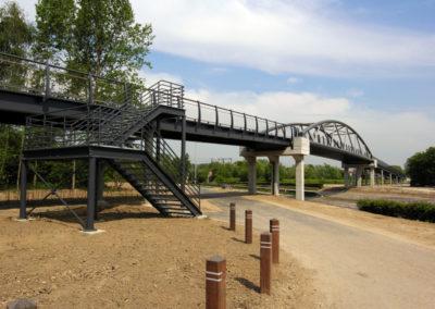 Fietsersbrug Woluwelaan, Vilvoorde