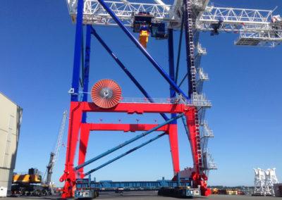 Lifting system, Rostock (DE) – Sarens i.s.m. Emotec