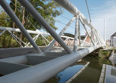 Fietsersbrug Keizerspark, Gent