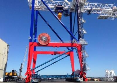 Lifting system, Rostock (DE) – Sarens & Emotec