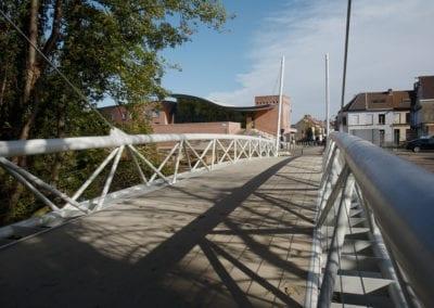 Pont cycliste Keizerspark – Gand
