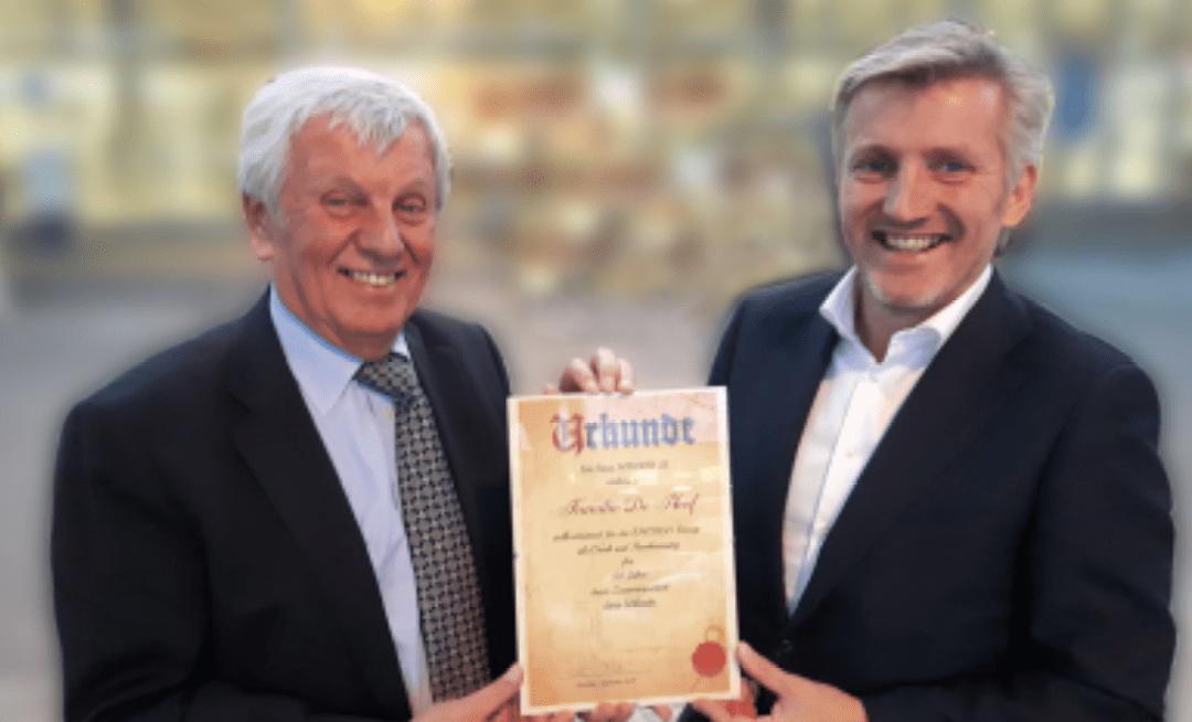 Certificaat samenwerking Emergo & Maurer (DE)