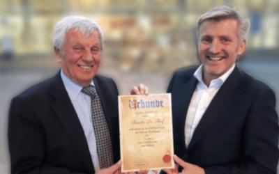 Certificat coopération Emergo & Maurer (DE)