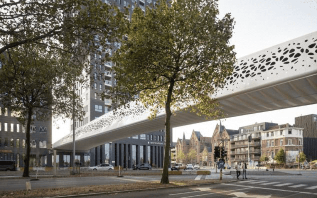 'Parkbrug Spoor Noord' finalist for the European Steel Bridge Awards – Category Pedestrian & Cycle Bridges (ENG)