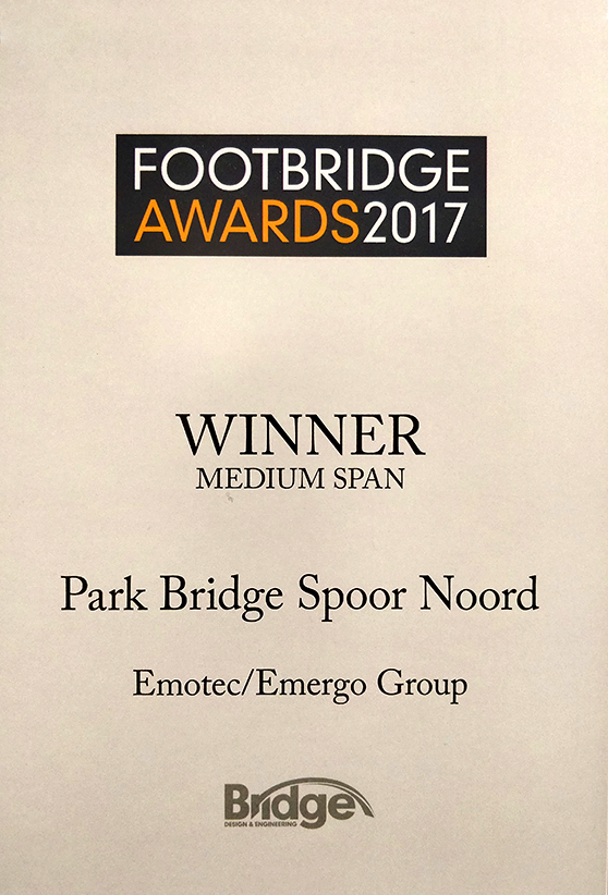 Footbridge award winner