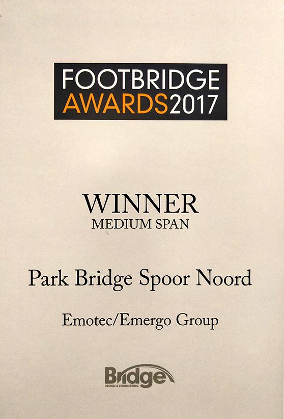 Footbridge award winner