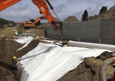 Waterdichtingsmatten (Bentoniet) – Schelleakker, Hemiksem