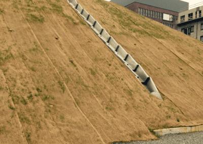 Biodegradeerbare erosiewerende matten – Leuven