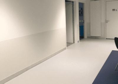 Muurbescherming ACROVYN® – UZ kabinet chirurgie, Leuven