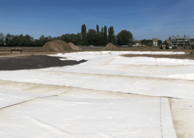 Waterdichtingsmatten (Bentoniet) – Hippodroom Waregem