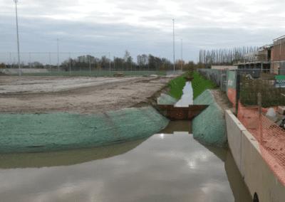 Biodegradeerbare erosiewerende matten – Boechout