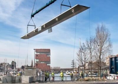 Fietshelling Parkbrug – Antwerpen